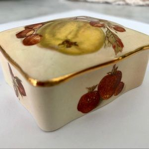 Palissy Royal Worcester Box